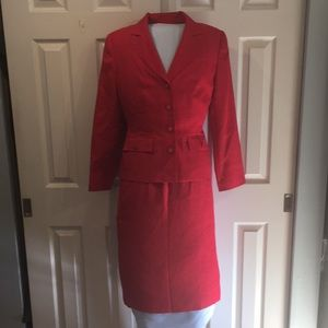 3 pc. Sag Harbor suit - Jacket,Skirt,Slacks Size 8